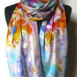Silketørklæde