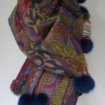 Jane Eberlein, Samarkand, uldsjaler, sjaler, pelshat, shawls, fur, pels, uldtørklæder