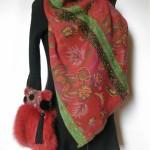 Pels, pelstaske, tasker, jane eberlein, samarkand,ræv, purse fur, bag in fur
