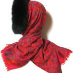 uld tørklæde, pels, cashmere tørklæder, pashmina tørklæder, sjaler, pelskrave, pelshue, pelshatte, uldtørklæder, samarkanddk,jane eberlein