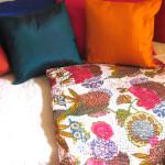 sengetæpper, bolig, boligindretning, tæpper, quilts, indiske sengetæpper, samarkand, jane eberlein, interiør, senge