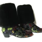 Benvarmere i Mink til at sætte på støvler. Samarkand har et stort udvalg af pels benvarmere / muffedisser til støvler.