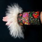 muffe,muffedisser, håndledsvarmer, wristwarmers, pelshatte, pelshuer, samarkanddk, Jane Eberlein, tibetlam