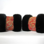 muffedisser, håndledsvarmer, wristwarmers, pelshatte, pelshuer, samarkand, Jane Eberlein