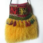 pelstaske, pels, dametaske, skuldertaske, taske pels, jane eberlein, samarkanddk, tibetlam