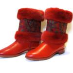 Benvarmer i Pels til at sætte på støvler.