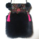 pelstaske, dametaske, taske, tibetlam, pels, jane eberlein, samarkand.dk
