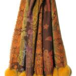 uldsjaler, pom pom,sjaler, pelshat, shawls, fur, pels, uldtørklæder,samarkanddk