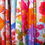 Silketørklæder med blomster print,samarkanddk