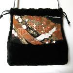pelstasker, pels taske, skuldertaske, totebag, kimonostof, jane eberlein, samarkanddk, dametasker, lædertaske
