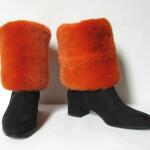 Benvarmere i Mink til støvler. Samarkand har et stort udvalg af pels benvarmere / muffedisser til støvler..