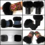 muffe,muffedisser, håndledsvarmer, wristwarmers, pelshatte, pelshuer, samarkanddk, Jane Eberlein, pulsvarmer