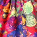 Nederdel syet af Italiensk bomulds stof. Samarkand har stort udvalg af nederdele syet af Jane Eberlein