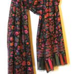 Stort sjal i cashmere og uld. Samarkand har et stort udvalg af store sjaler i cashmere, pashmina, uld mm